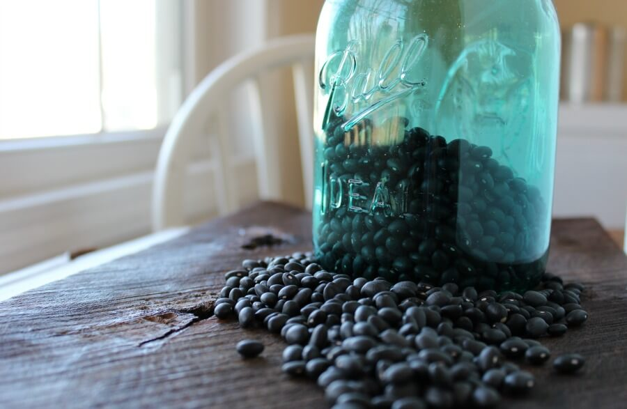 Let the slow cooker do all of the work for you. A simple and easy black beans recipe for cooking beans from dried. Economical and nutritious.