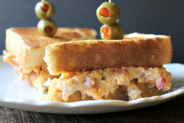 Cheese Lovers Dream! Made with cheddar cheese, this pimento cheese spread is to die for. Serve with bread, crackers, veggies, or eat it with a spoon!