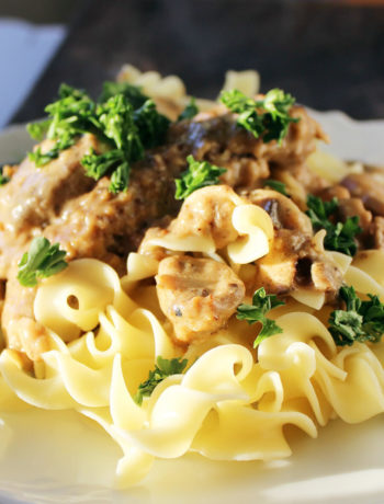 Country Fried Beef Stroganoff | Buy This Cook That