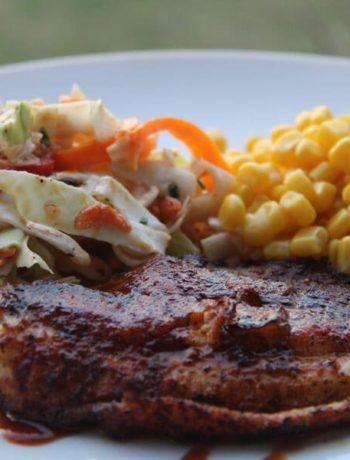 Who said you have to deep fry catfish? Our BBQ Catfish Recipe uses a spicy rub and smoky glaze that is perfect. Features Red Neck Lipstick BBQ Sauce!