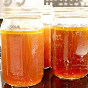 Want to know the secret to making your meals taste better? Easy chicken broth recipe, home-made. Add it to your rice, soups, stews and more.