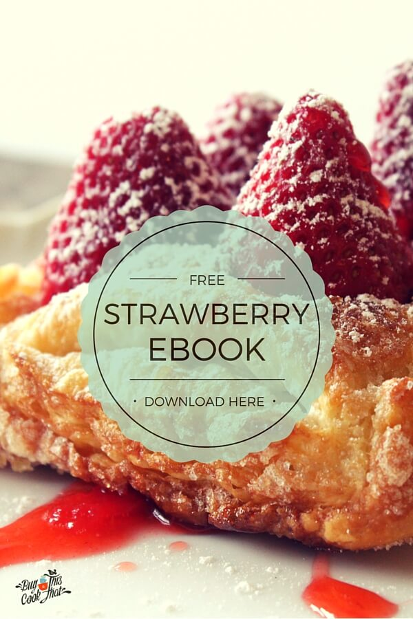 Free Strawberry Recipe Ebook