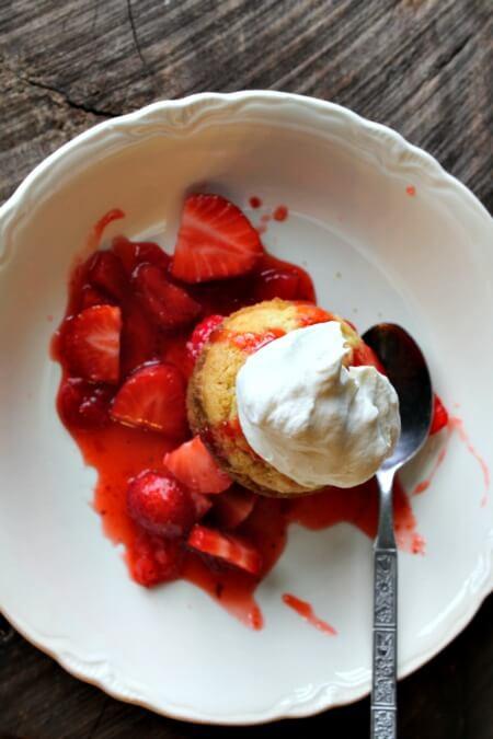 Muffin Strawberry Shortcake Recipe