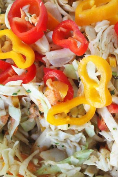Spicy Jamaican Slaw