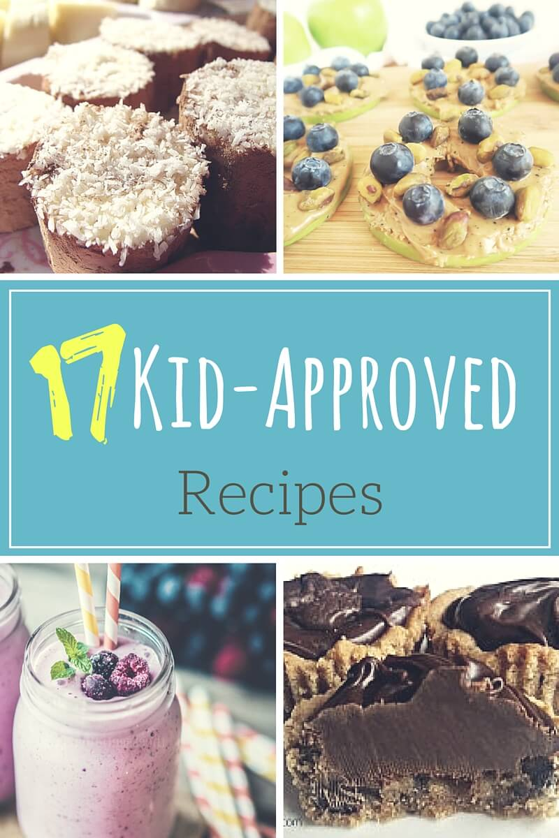 Are your kids eating everything in sight? Our list of 17 Kid Approved Recipes will make you a hero.
