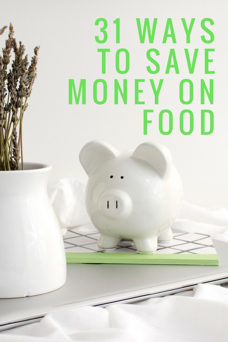 Take control of your grocery budget! We are sharing real tips that we use every day that work. 31 Ways to Save Money on Food from Buy This Cook That.