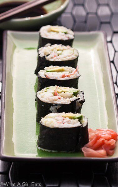 Cali Rolls for Kids by What a Girl Eats