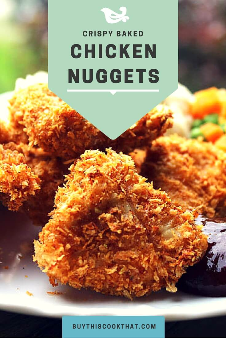 Knock their socks off with our Crispy Baked Chicken Nuggets. Secret ingredients? Panko Bread Crumbs and Pickle Juice. (No, we aren't kidding around.)
