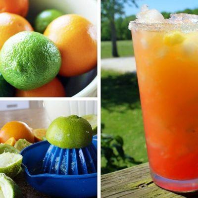 Sugar Sunset Margaritas