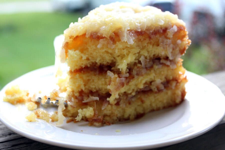 Pineapple Cake Recipe With Icing
