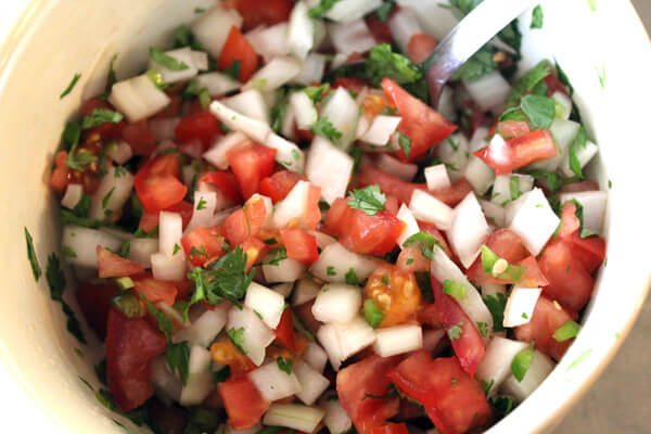 Our Fiesta Lime Chicken is a grilled recipe with a zesty marinade. Oh ...and let's not forget our super fast and fresh pico de gallo. Yummy!