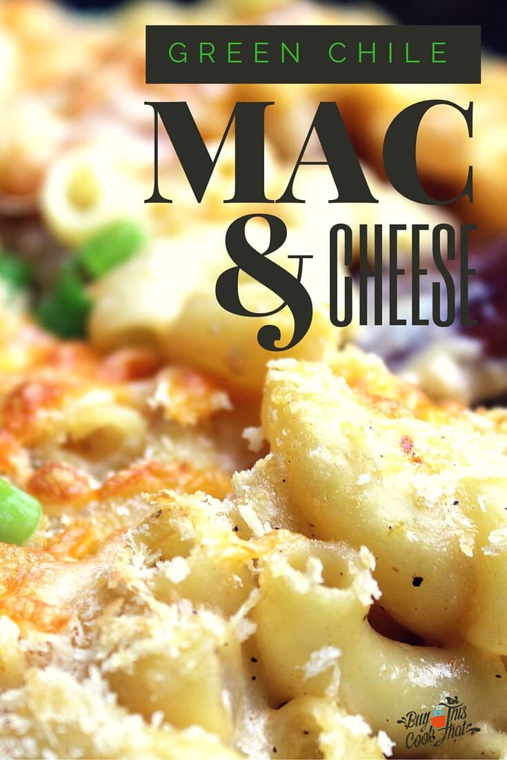 This is a recipe you wish you'd been eating all your life...a recipe you crave. Green Chile Macaroni and Cheese. One skillet, 30 minutes, mind blown.