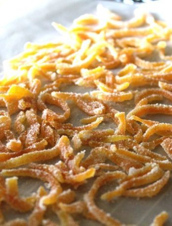 Candied Sugar Orange Peel