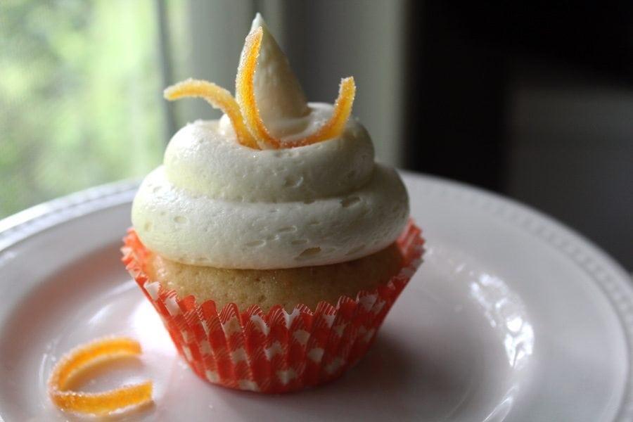 Orange Marmalade Cupcakes