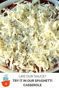 Like our Pasta Sauce Recipe? Try it in our Spaghetti Casserole Recipe.