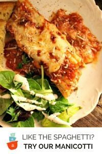 Try our Manicotti recipe