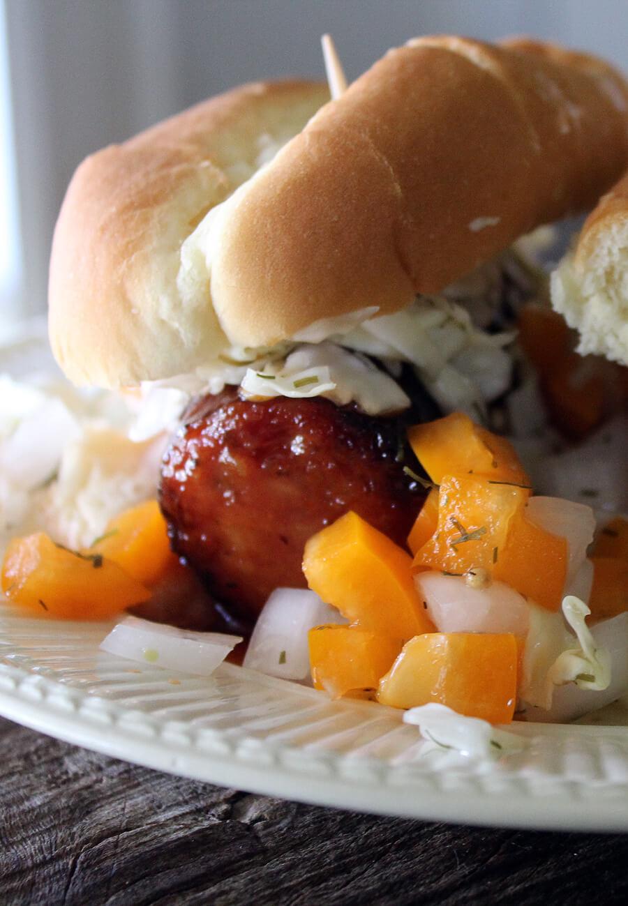 Big Orange Smokeys and Checkerboard Relish | Tennessee Tailgate