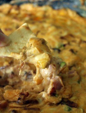 Woo Pig Sooie! Hot Ham Dip | Arkansas Tailgate