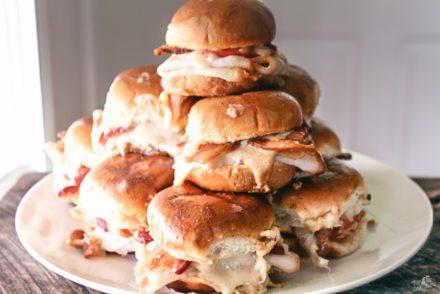 Kentucky Hot Brown Slider Sandwiches