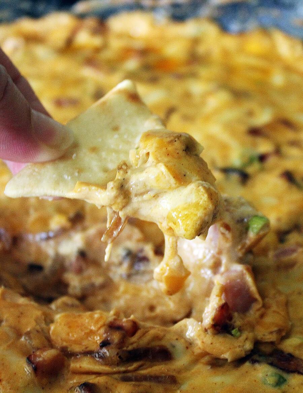 Hot Ham Dip - Arkansas Tailgate