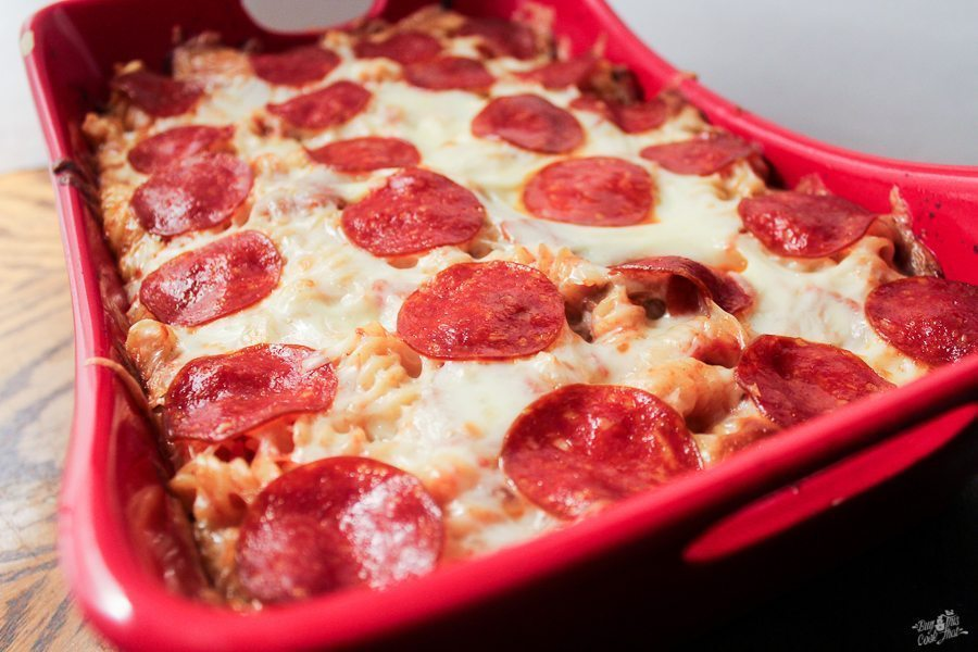 Saucy. Cheesy. Easy. Our Pepperoni Pasta Bake Casserole is a YUM recipe your family will love. Made with ooey gooey cheese and spicy pepperoni.