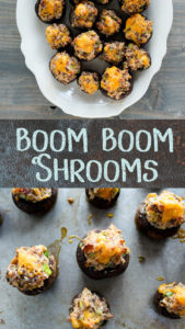 The very best stuffed mushroom recipe ever.