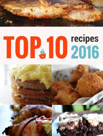 Top 10 Recipes 2016
