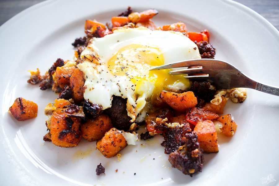 Sweet Potato Sausage Brunch