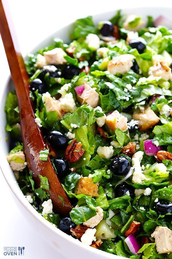 Blueberry Chicken Chopped Salad | Delicious Salads That Don't Suck