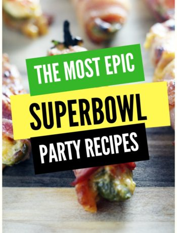 Want the very best Superbowl Party Recipes Ever? Click here!