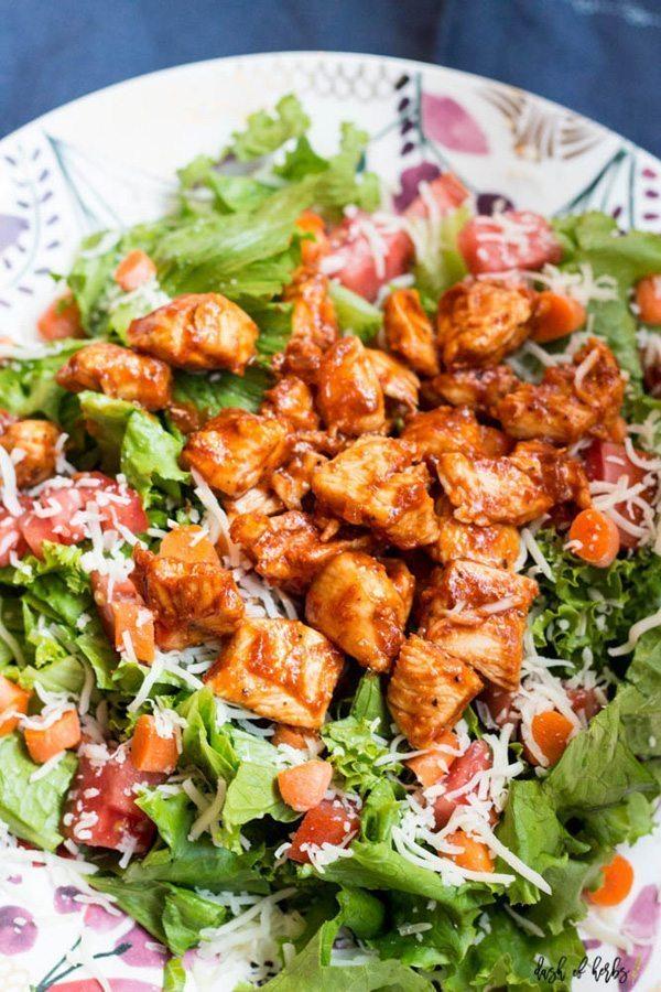 BBQ Chicken Salad   Delicious Salads That Don't Suck