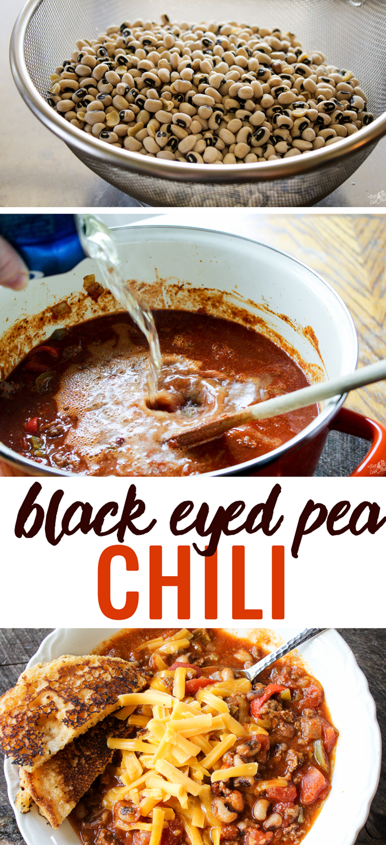A spicy classic with a Southern twist. Our Black Eyed Pea Chili recipe is amazing. Earthy flavor with a kick. (Serve with cornbread.)