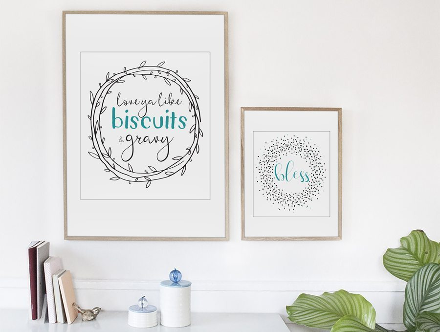Free Farmhouse Printables from Buy This Cook That