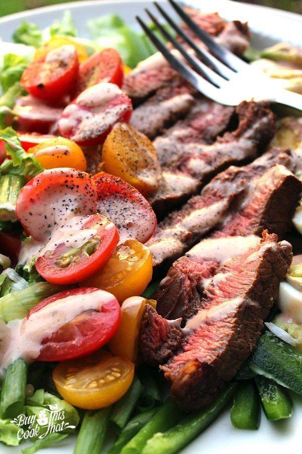 Steak Cobb Salad   Delicious Salads that Don't Suck