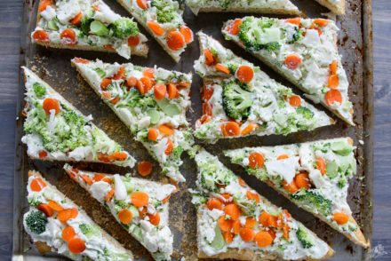 Veggie Pizza Appetizer Recipe