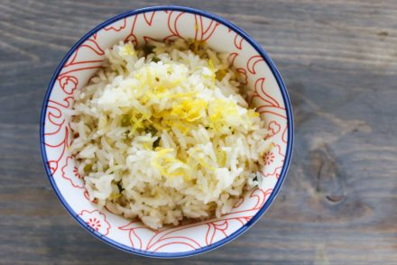 Baked Lemon Rice