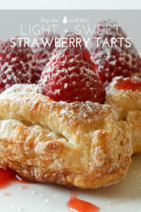 Fresh Strawberry Tarts   Buy This Cook That