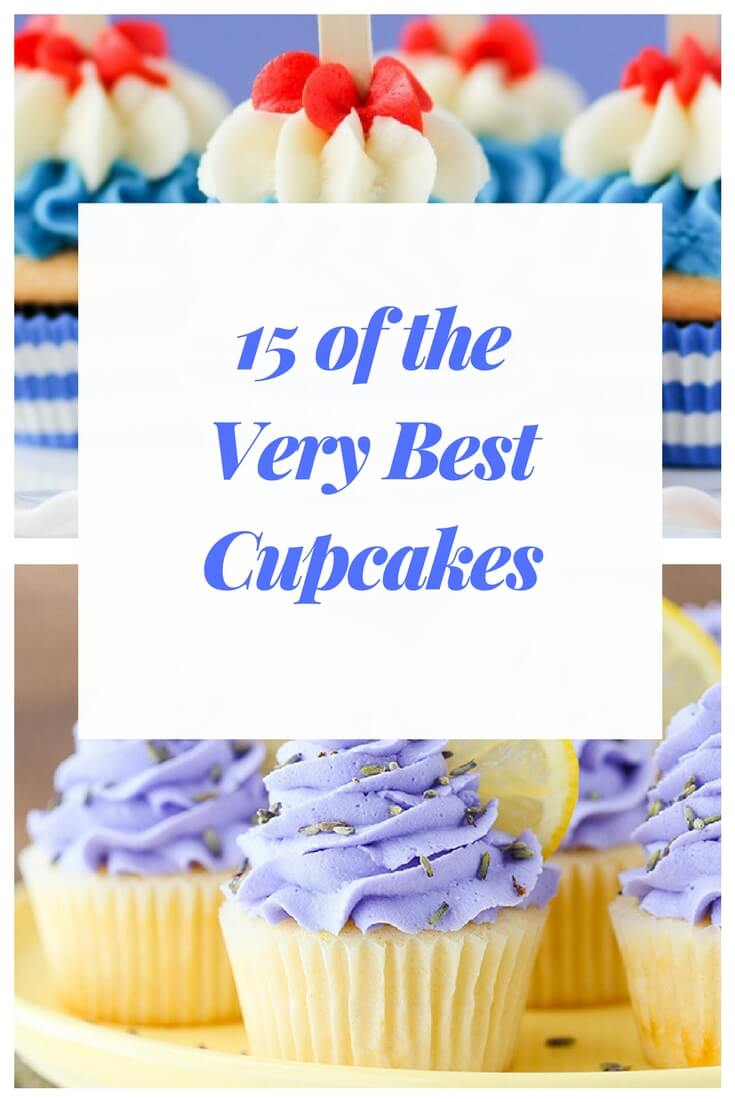 I love everything about cupcakes. Making them. Decorating them. Peeling the paper off.  And most of all...eating them. I♥ cupcakes, ya'll.My search for the ultimate cupcake has uncovered the most beautiful and best cupcake recipes.  #bestcupcakerecipes