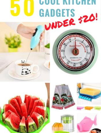 50 Plus Cool Kitchen Gadgets Under $20