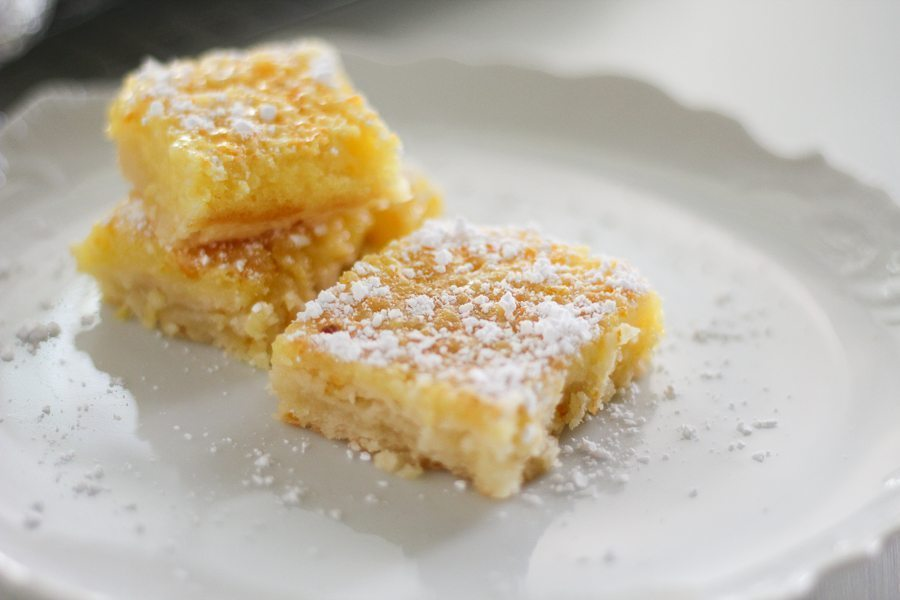 Citrus Orange Lemon Bars