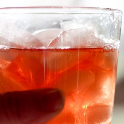 Pineapple Cranberry Sun Tea