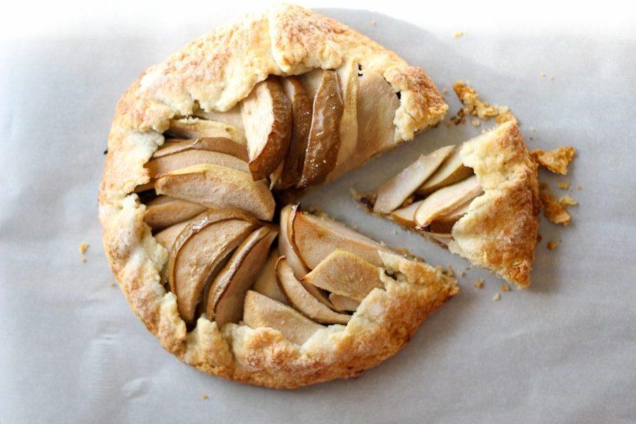 Rustic Pear Galette Recipe