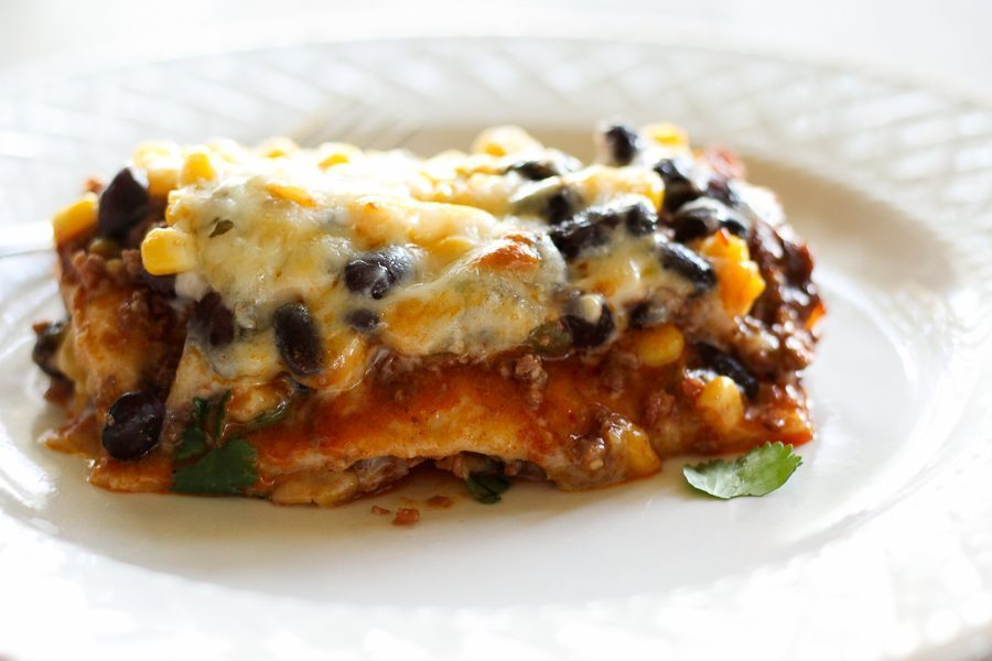 Salsa Chorizo Casserole