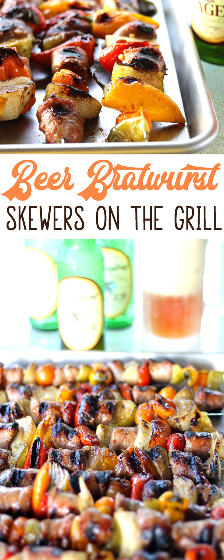 To make the most of your time with family and friends, I've got a huge piece of advice. Keep the food simple and delicious! We can't wait until you try these amazing Bold Beer Bratwurst Skewers on the Grill.