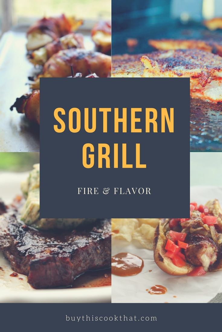 Our favorite grilling recipes are definitely Southern. Smoky flavor, bold spices, and local flair. Fire & Flavor.