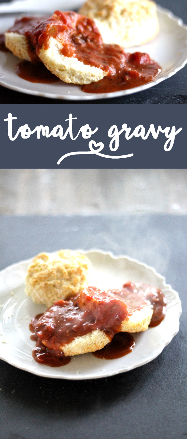 It doesn't matter who you are or where you are from, Tomato Gravy is good Southern food. #tomatogravy #gravyrecipe #southerncooking