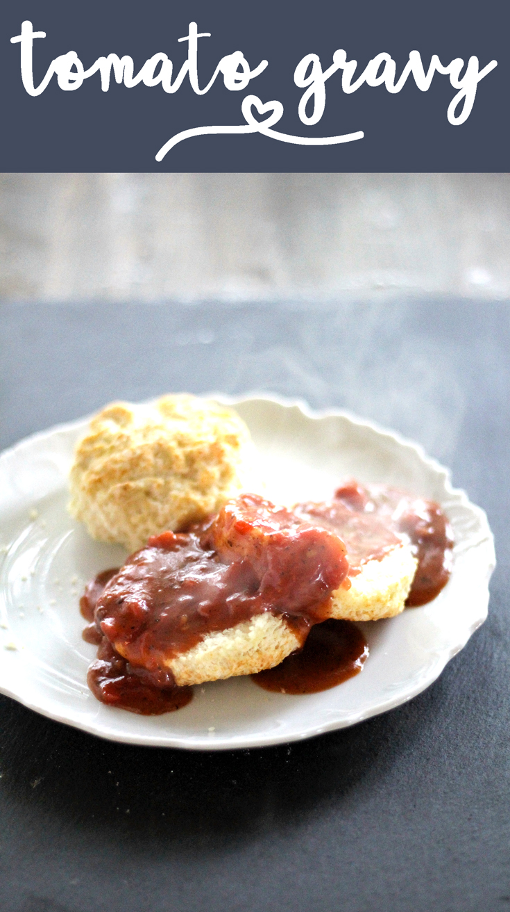 It doesn't matter who you are or where you are from, Tomato Gravy is good Southern food. If you have never had tomato gravy before, you have to try my father in law Dale's recipe. This delightfully different gravy recipe is a flavorful and filling.