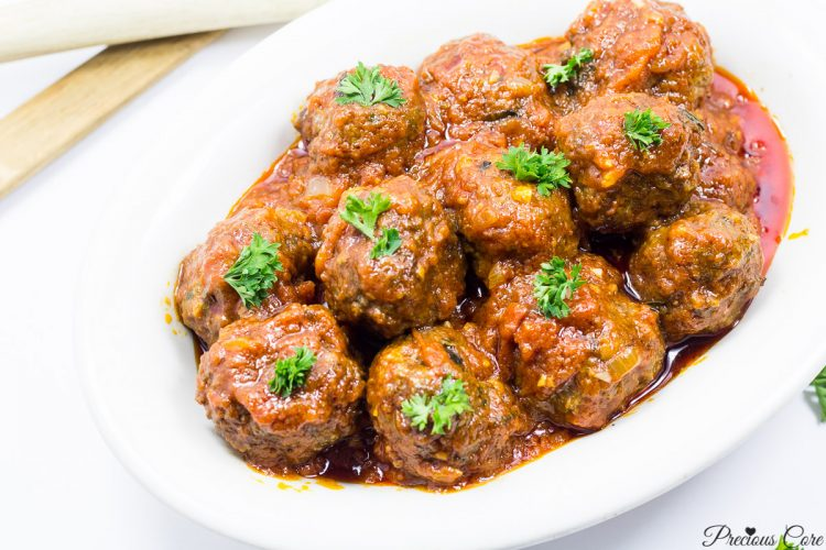 Weeknight Dinner Recipes African Meatballs by Precious Core