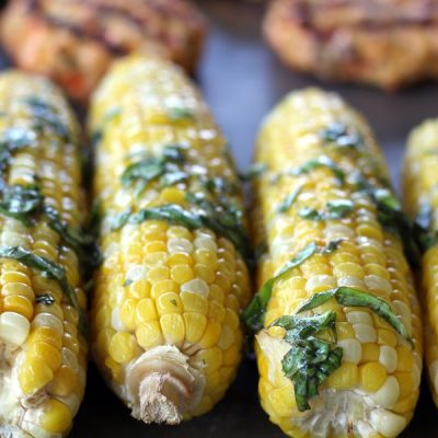 Butter Basil Sweet Corn