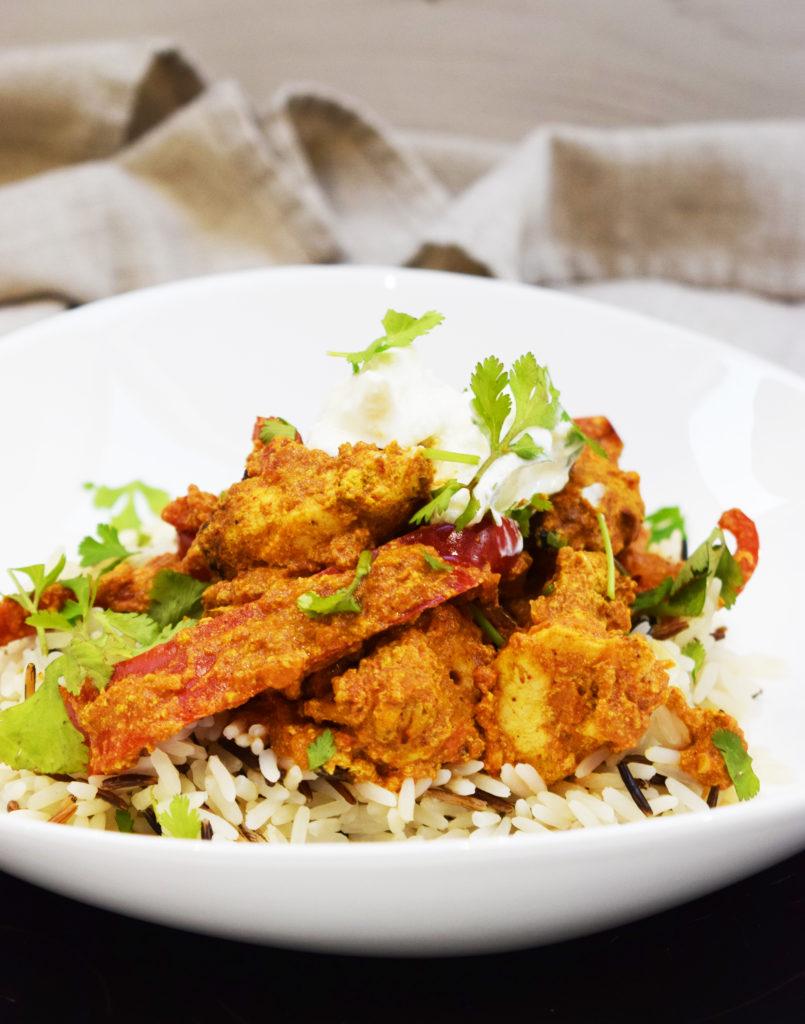 Weeknight Dinner Recipes Homemade Healthy Chicken Tikka Masala by Basement Bakehouse